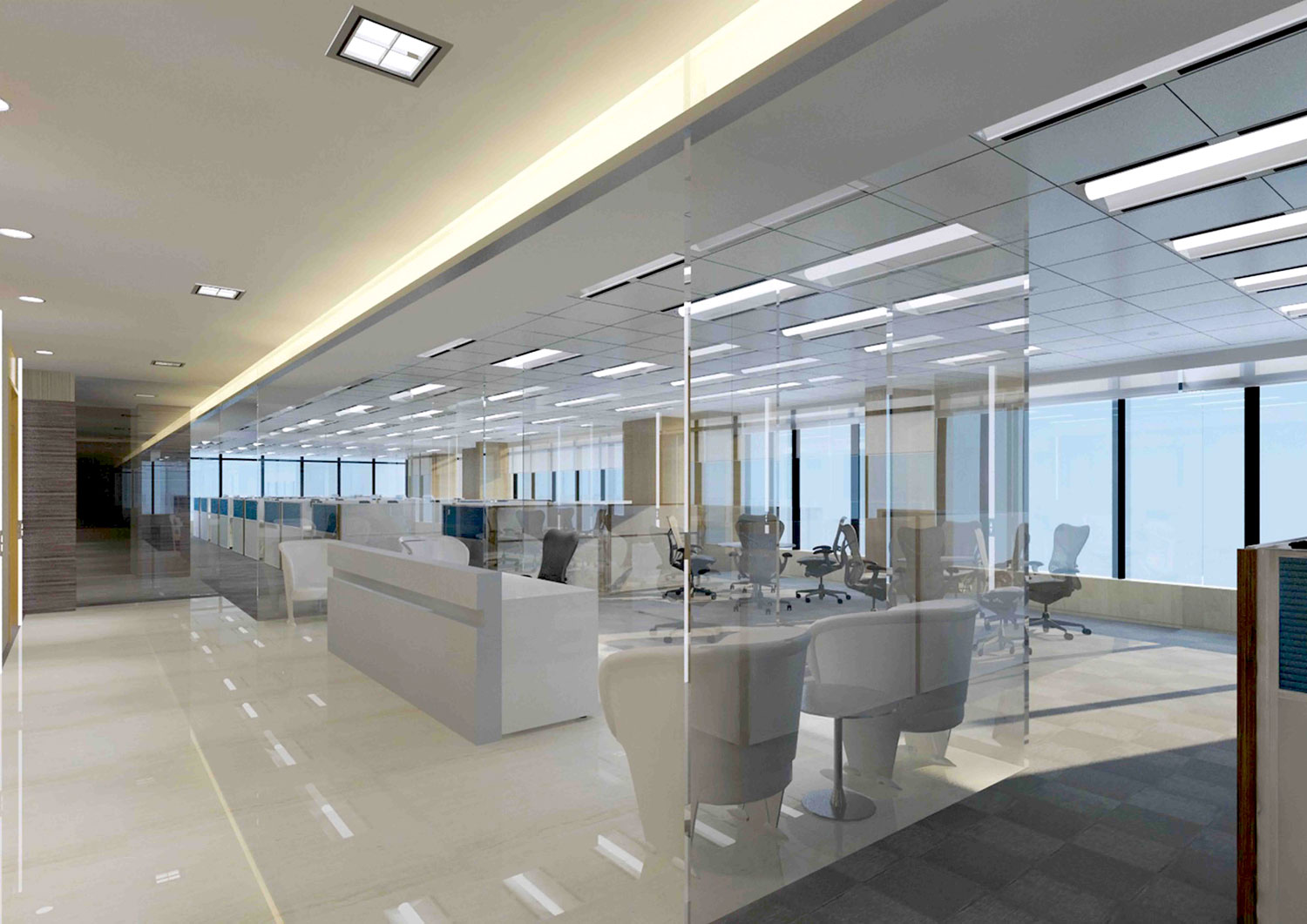 Fat sumo hong kong office building interior cgi for Building interior decoration
