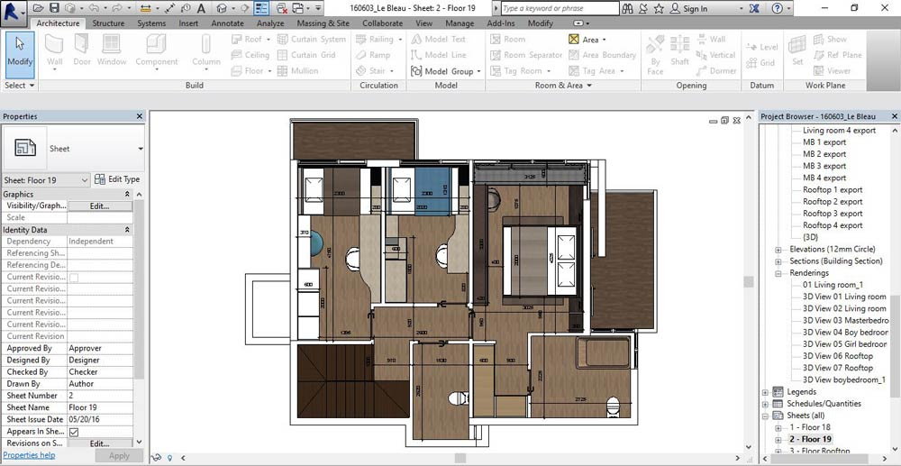 How To Draw A Floor Plan In Revit 2016