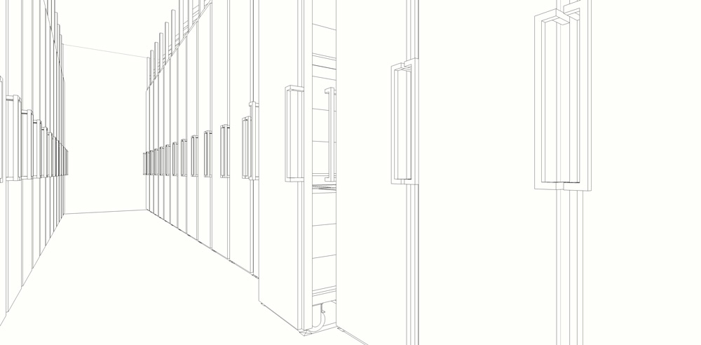 Wine cellar-design-revit